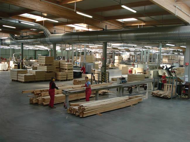 Apsardze ražošanas telpās
